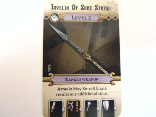 md - l2 treasure card (javeline of sure strike)